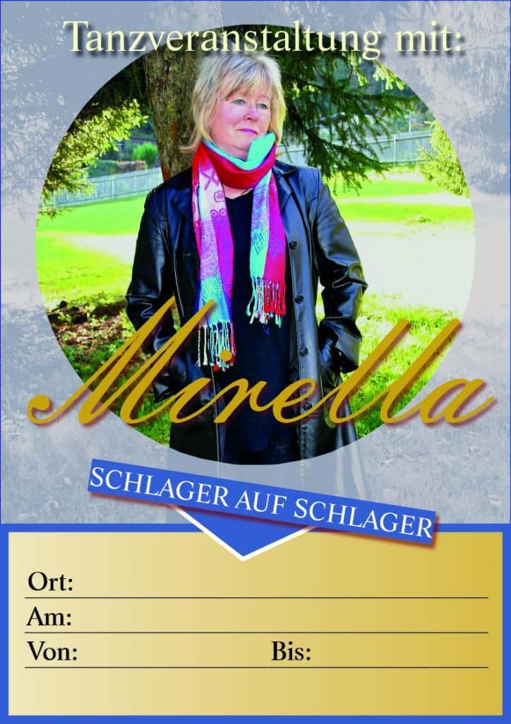 Veranstalter, Mirella Sängerin