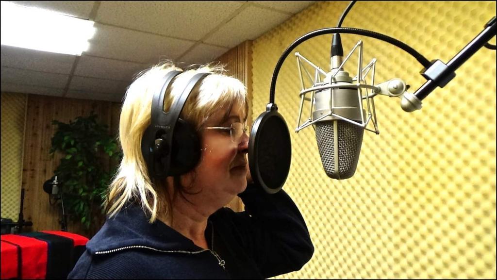 Die Arbeit am neuen Programm auf vollen Touren, Mirella Sängerin